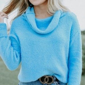 Free People Pullover Sweater Winter Vacation